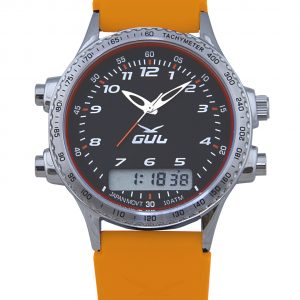 Seaton Black Face with Orange strap. (530070081)