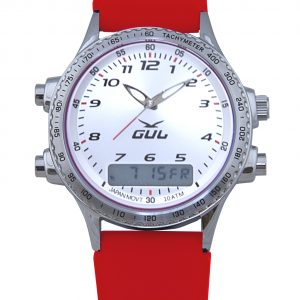Pearl White face with Red Strap (530070086)